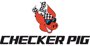 Checker Pig Logo